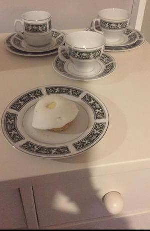 A beautiful set of cups and saucers