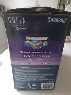 Bestway Queen Airbed with Electric Pump