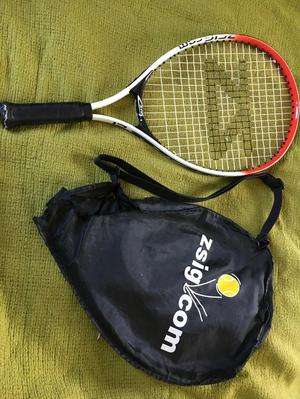Childs 21 inch tennis racket& cover case