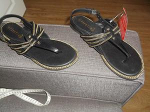 Firetrap brown/Gold sandals. 5. new with tag