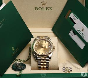 Full Set Rolex DateJust 41 Stainless Steel & 18K Yellow Gold