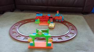 Happyland ELC train track with accessories