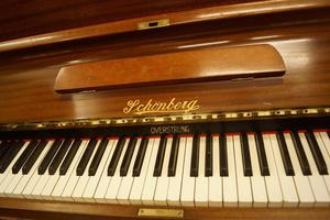 Vintage upright piano. UK delivery available - Tuned
