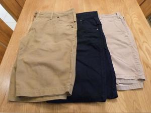 3 pairs of Cargo Shorts (2 x Next, 1 x M&S)