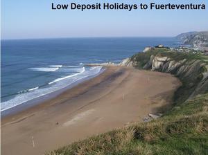 Book Low Deposit Holidays to Fuerteventura - Start your