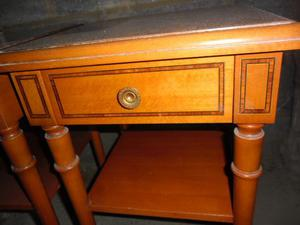 Matching Pair Of Teak Side tables