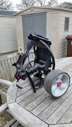 Mocad electric golf Trolley with battery /charger and bag