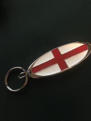 ST. GEORGE KEY RING