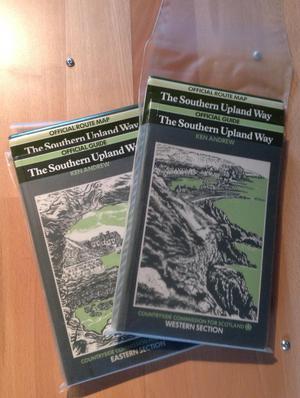 Southern Upland Way walking Guide & Map original version