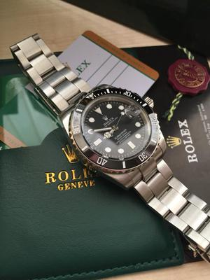 Supreme! Black Bezel Stainless Steel Rolex