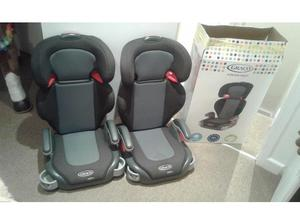 Two Graco Junior Maxi Car Seats For Sale in Cardiff
