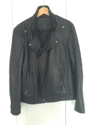 ASOS Mens Leather Jacket for Sale
