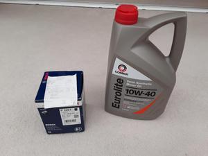 Brand new oil & filter for Fiat Ducato 2.8 JTD