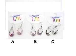 Pair of Charisma coloured earrings - JTY245 in Edinburgh