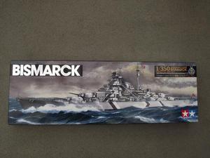 """Tamiya German Battleship """"Bismarck"""""""