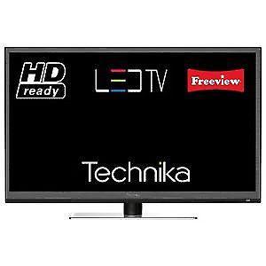 "technika 24"" LED TV FULL HD p BUILT IN FREEVIEW"