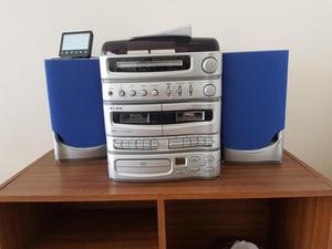 sony rxd7 midi hifi system 3 cd 2 tape decks posot class. Black Bedroom Furniture Sets. Home Design Ideas