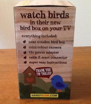 Bird box and camera kit