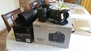 Canon 5D Mk3 with 3 lenses like new Shutter counter 16k