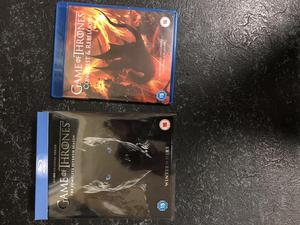 Game of Thrones season 7 Blu Ray with bonus conquest and