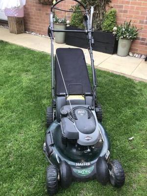 Hayter Petrol motorized lawn mower