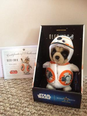 Limited edition Meerkat movies Star Wars toy