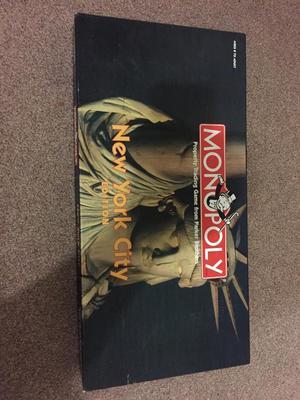 New York City edition monopoly
