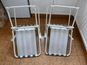 Pair of Folding Picnic Chairs