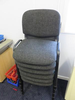 8 x office chairs for sale buyer collects
