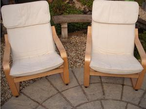 Ikea easy chairs in Weston Super Mare