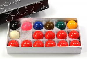 Kids Small ECONOMY SNOOKER 17 Ball Set - 1 5/8Inch (41mm)