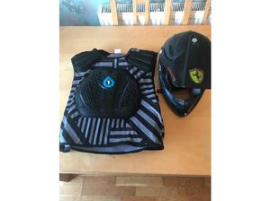 MTB 661 Protective vest and full face helmet in Worthing