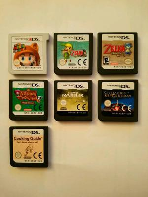 Nintendo 3DS and NDS game bundle