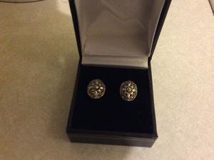 Solid silver earrings 925 silver