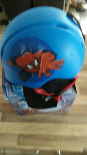 Spiderman ski helmet