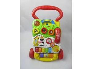 VTECH FIRST STEPS BABY INTERACTIVE WALKER - USED GOOD
