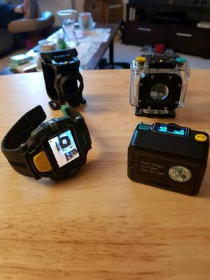 Waterproof Action Cam and Watch