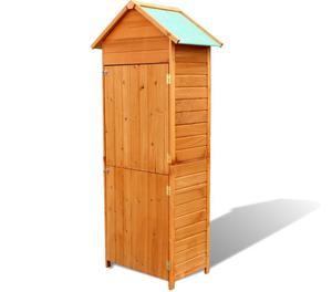 vidaXL Garden Wooden Cabinet Waterproof  New