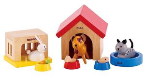 Play House Family Pets Toy Made From High Quality Materials