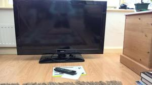TV/PC monitor with remote control