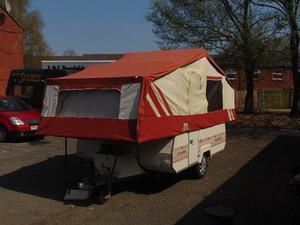 Pennine pullman trailer tent   Posot Class