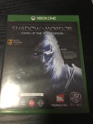 Middle Earth: Shadow of Mordor Game Of The Year Edition Xbox One