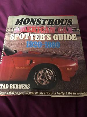 Monstrous American Car Spotters Guide.