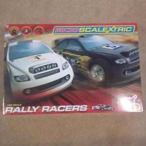 Scalextric rally racers