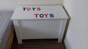 Toy Box. Painted