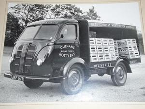 s Original Photograph Guinan's Liverpool Bottlers Of Slater St Commer Lorry sign