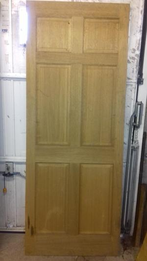 2 Solid Oak Interior Doors