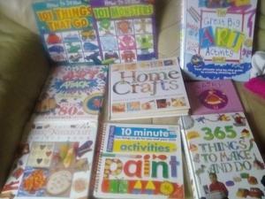 9 Art,craft books