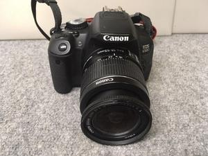 Canon EOS 650D DSLR Camera & EF-S mm IS II Lens