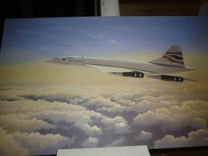 Concorde art print by Adrian C Rigby